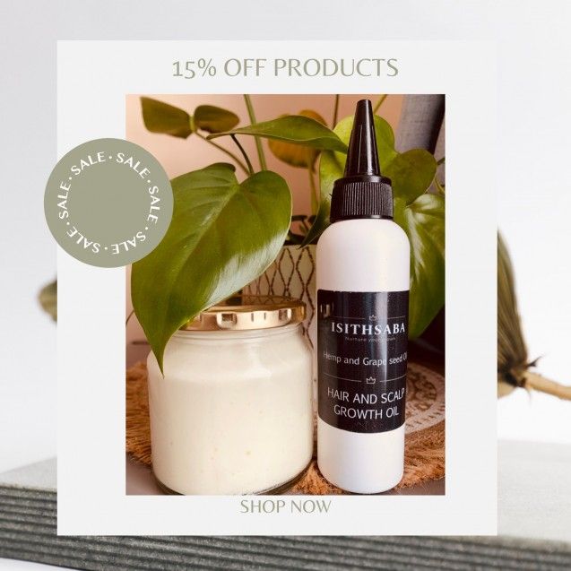 Deep Moisturizing Hair Butter & Hair Scalp growth Oil Combo
